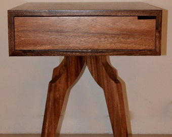 Mid Century Modern Inspired Night Stand, Side Table, End Table, Accent Table