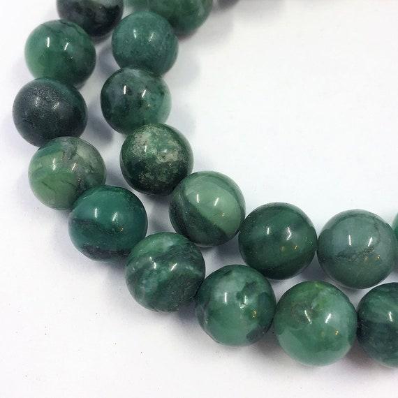 "6 MM Pink Rose round jade Gemstones Loose Beads Jade 15/"" 2018"