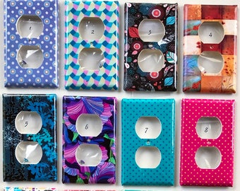Abstract, Animal Print, Damask Light Switch and Outlet Covers