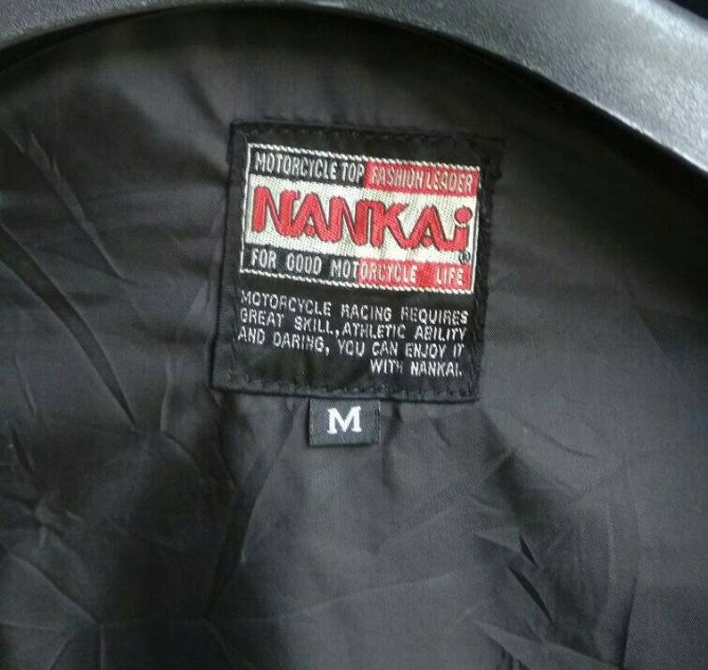 Vintage NANKAI Racing Motorcycle Nylon Jacket