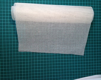 """Bookbinder's spine muslin - Mulls No. 8 - starched, non stretch - size 500mm x 350mm (19 5/8"""" x 13 3/4"""")"""