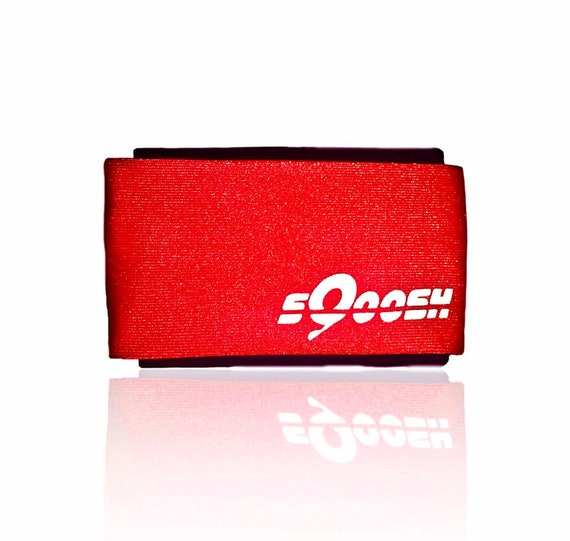 Red, sQoosh, Sweatband, handband, Hand band, bracelet, wallet, iPhone holder
