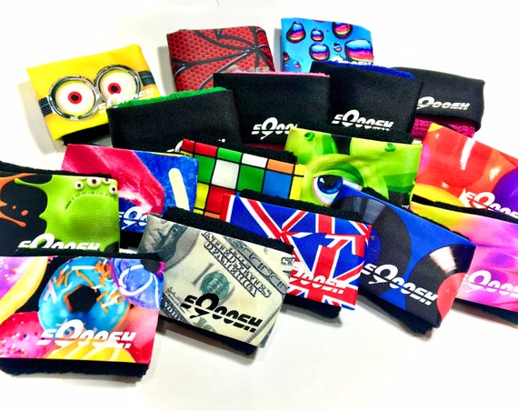Quick Pick, best sweatband, for runners, Wristband,  Fashion runner, donuts, England, wrist towel, hand towel, armband