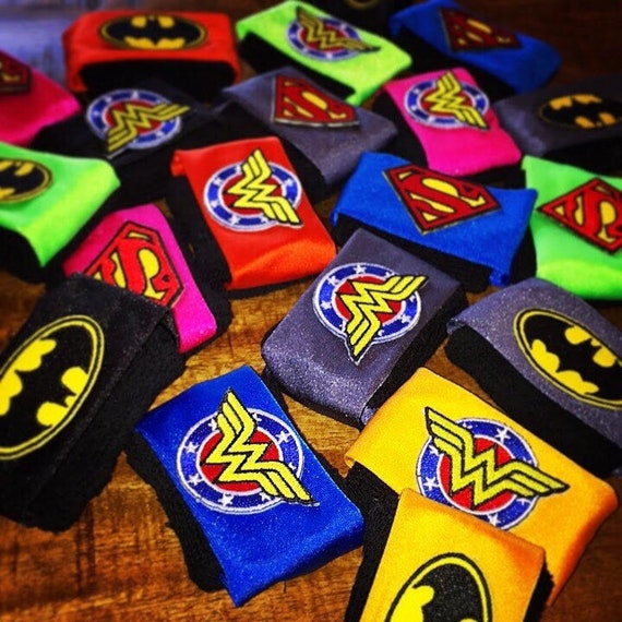 Super Hero sQoosh • Free When you purchase 2 regularly priced sQoosh bands, Wonder Woman, Batman, Superman, Captain America