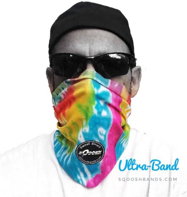 Colorful bandana mask face covering Neck Gaiter Fishing image 0