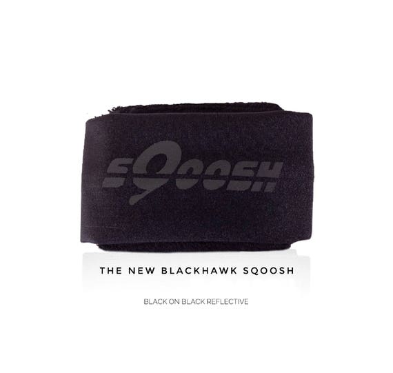 Black, Blackhawk sQoosh, Sweatband, fistband, Hand band, wallet, iPhone holder