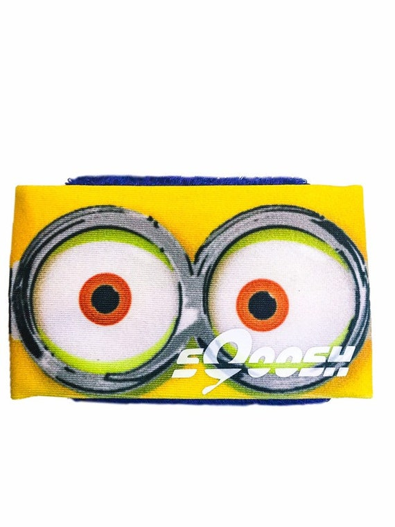 Yellow Critters, Minions, sQoosh, hand sweat band, One eye, two eye, better than, headbands