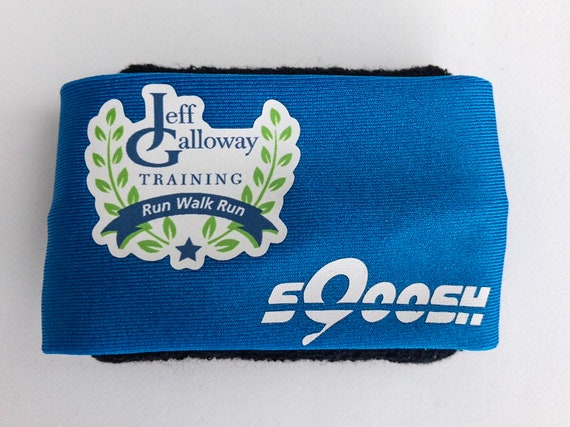 sQoosh Jeff Galloway, Limited Edition, Runners Sweatband, wristband, sweat band, non Headband, run walk run