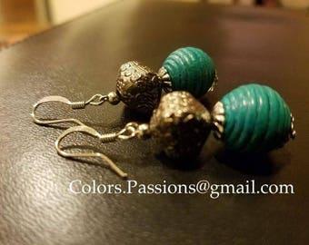 Vintage dangling earring,boho,trendy,indian,christmas stocking,gift