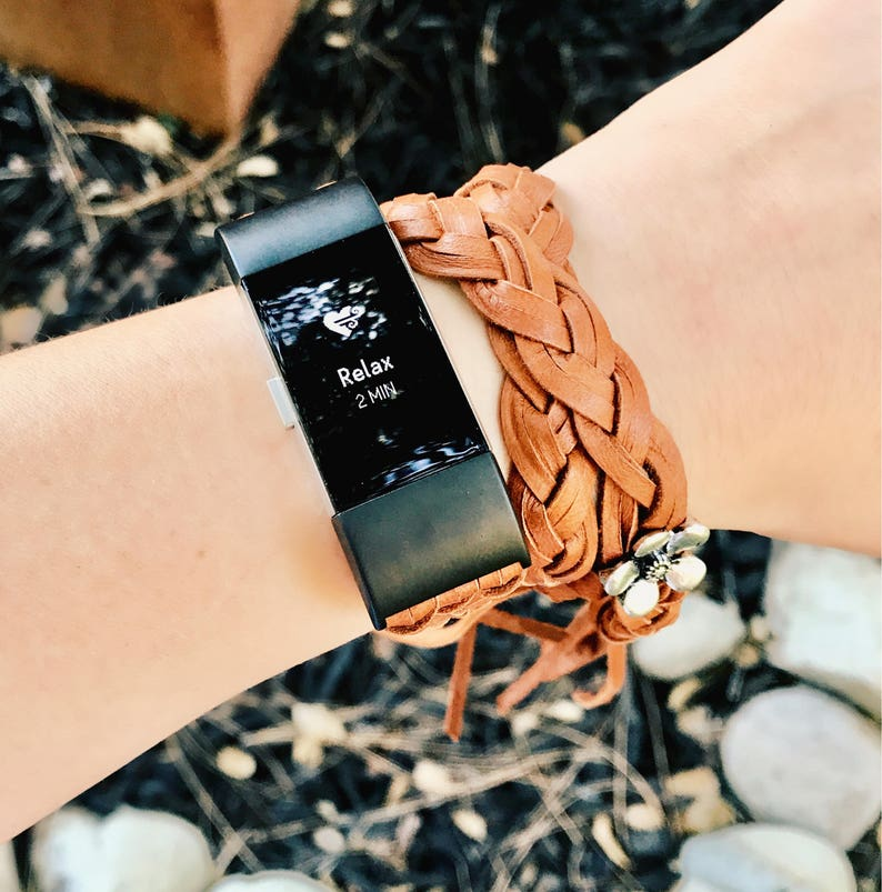 FitBit Charge 3, FitBit Charge 2, Charge 3 Band, Charge 2 Band, Charge 3  Accessories, FitBit Boho Braid, Women's FitBit, Black Charge 2