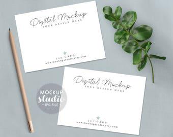 Wedding Stationery Mockup Wedding Invitation Mockup 5x7