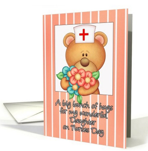 Nurses day daughter nurses day greeting card nurses day card etsy image 0 m4hsunfo