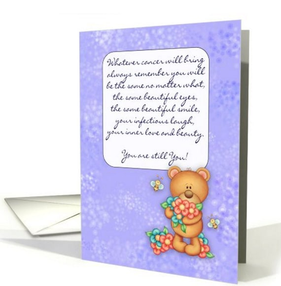 cancer patient encouragement card card for cancer patient 4 etsy