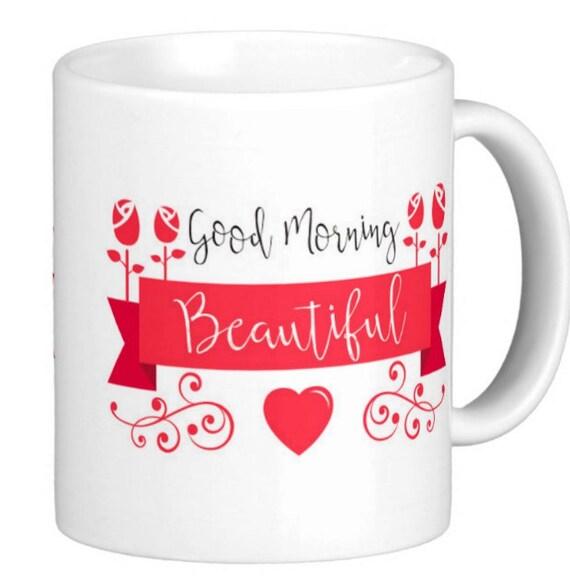 Schönen Guten Morgen Keramik Becher Vögel Herzen Und Blumen Liebe Und Romantik