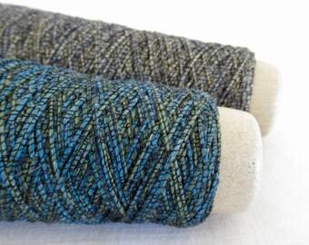 SALE....HABU with scarf pattern Tobi Moire Japanese art yarn