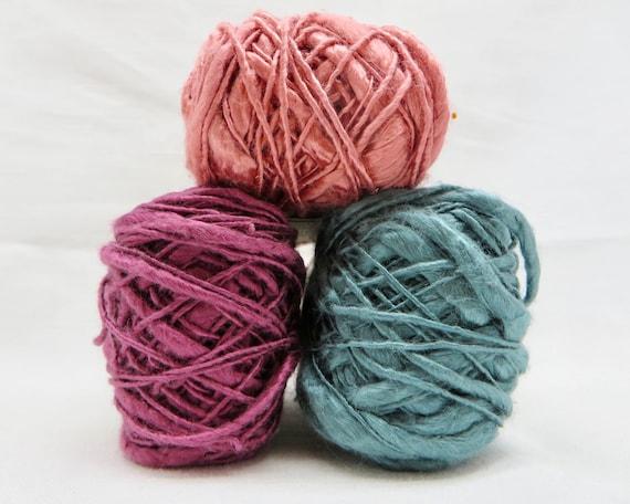 Silk Kenbo Slub   Thick and Thin Yarn  Silk Slub  100/% Silk Yarn  Baby Yarn  Soft Yarn  Crochet  Knitting  Luxury Yarn  Habu N109