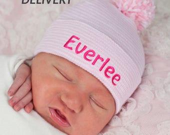 b5ce779967a3d Personalized newborn hat