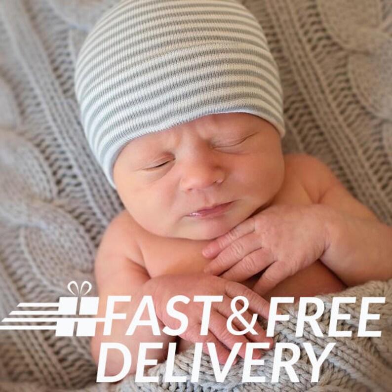 904e014b529 Baby boy Hat Baby Boy Hospital Hat Baby Boy Hat Beanie Gray