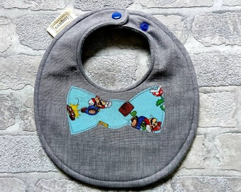 Baby bibs, bib, bibs, dribble bib, teething bib, baby shower gift, baby bow tie, novelty bib, baby boy bib, party bib, new baby gift
