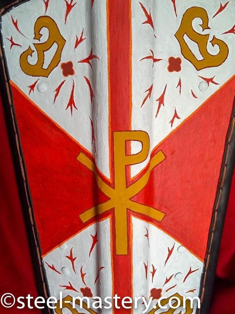 Viking Battle shield for LARP events Medieval Pavise Shield Pavise Shield for historical reenactments