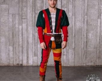 Italian Renaissance men's costume, XV century larp by Steel Mastery™