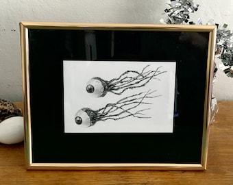 Original Drawing- Eyeballs