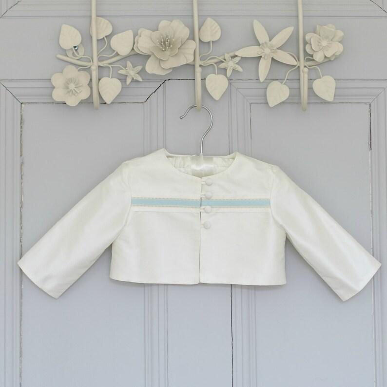 3c5565bba James Christening Jacket. Baby Boy Baptism Outfit. | Etsy