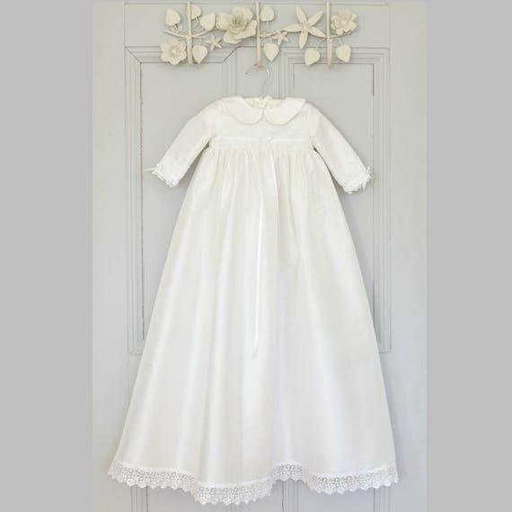 Taufen Kleid Isla Taufe Kleid Taufe Kleid Winter Taufe Langarm Kleid Segen Kleid Taufe Outfit