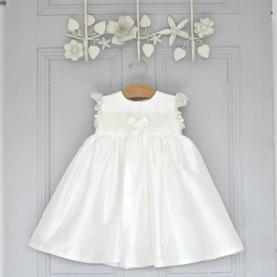 Taufe Kleid Taufe Baby Mädchen Taufe Kleid Segen Babykleid Taufkleid Taufe Kleid Kleid Lucy Taufe Kleid
