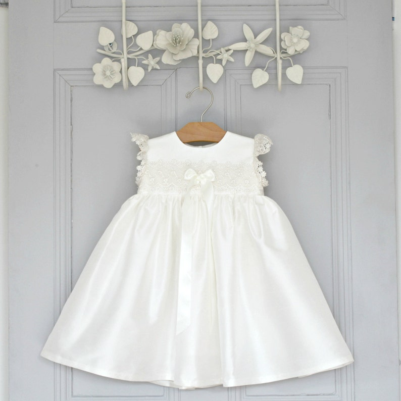3d7c12d8016 Christening Dress Baptism Dress Baby Girl Baptism Dress
