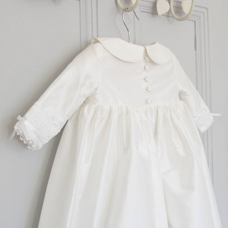 Baptism Gown Isla Long Sleeve Gown Blessing Gown Christening outfit Winter Christening Christening Dress Christening Gown