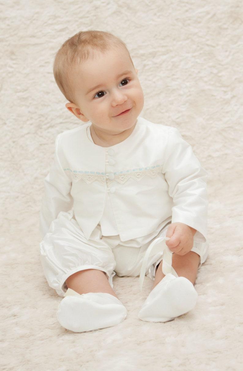 e1c7b3d17 Oliver Christening Jacket. Baby Boy Baptism Outfit. | Etsy