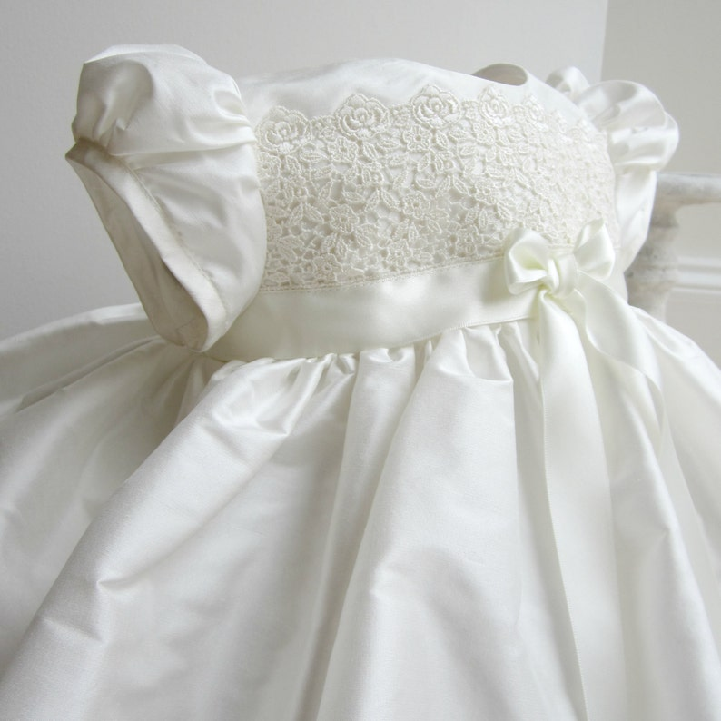 ecd9a6f3862 Christening Gown 'Olivia' by Adore Baby Baptism Gown image ...