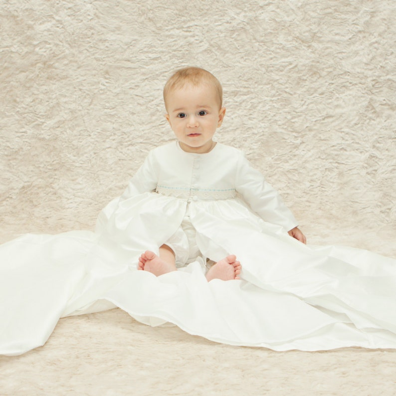 972899c1a Christening Gown Coat 'Oliver' by Adore Baby Boy | Etsy