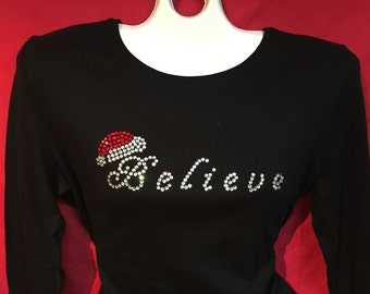 Christmas Shirts For Women Plus Size Etsy