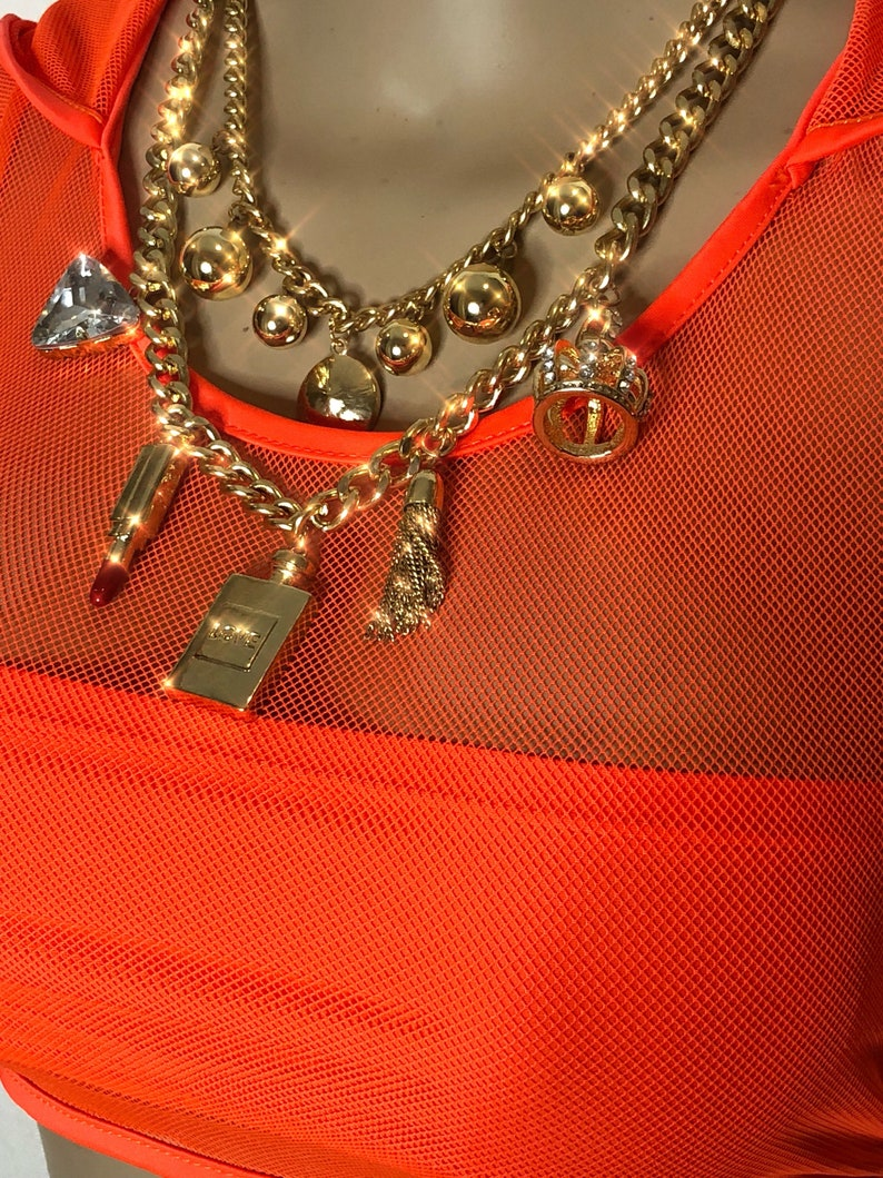 Hoodie Mesh Crop Top and Bottom Set WHOLESALE Bling Ravewear Outfit Burning Man Festival Exotic Dance Wear Pole Dancer wear Mesh Bralette
