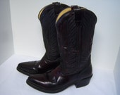 0087053db5c Items similar to Iron Age Safety Toe Boots, Marked Size 9D, Western ...