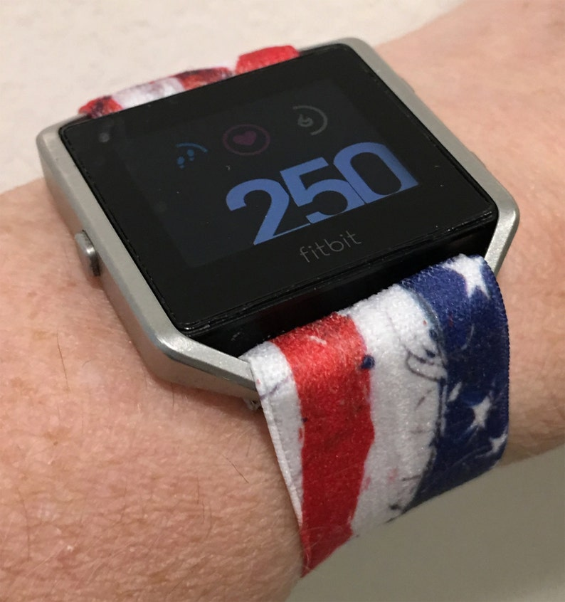 Fitbit Blaze Band - Flags and NE Sports