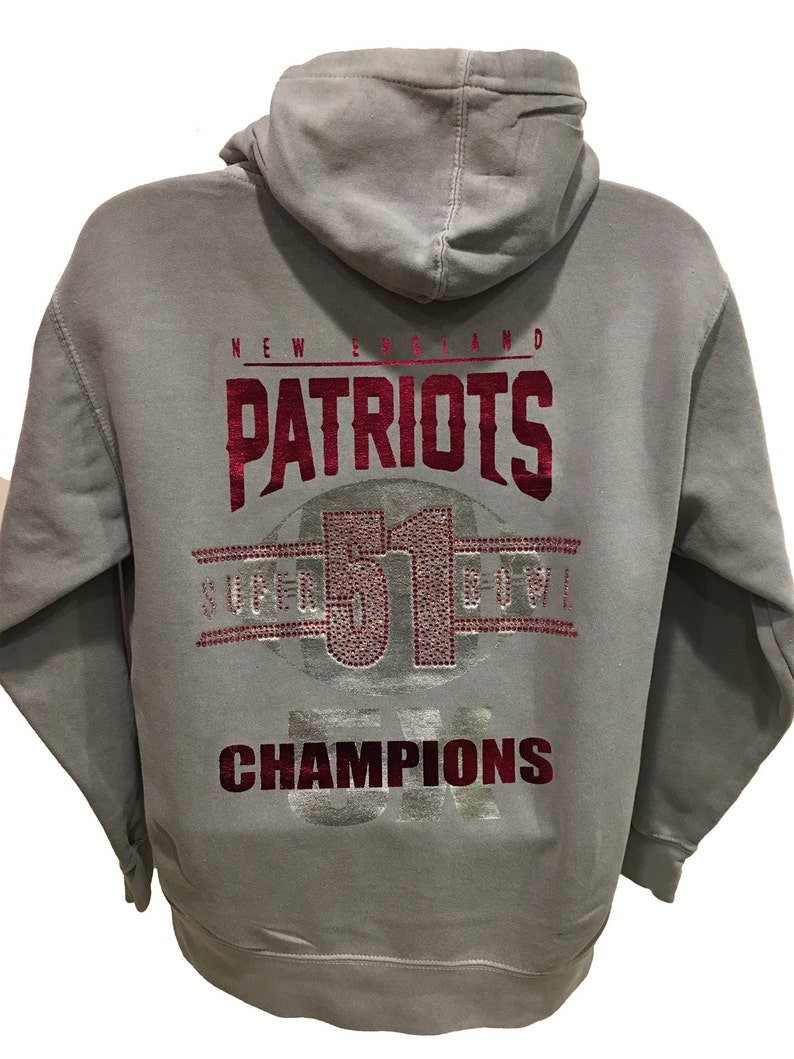 cheap for discount 6b36a 44bd6 Super Bowl 51 Patriots Championship Bling in Pink!