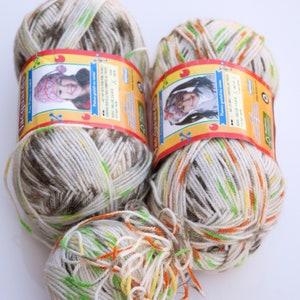 Machine Washable Phildar Coton Phil 51 Red Orange Cotton Blend Yarn Baby Yarn lot of 10 Skeins
