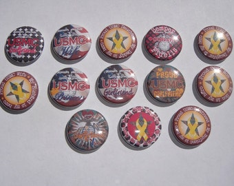 United States Marine Corps Buttons Set of 13