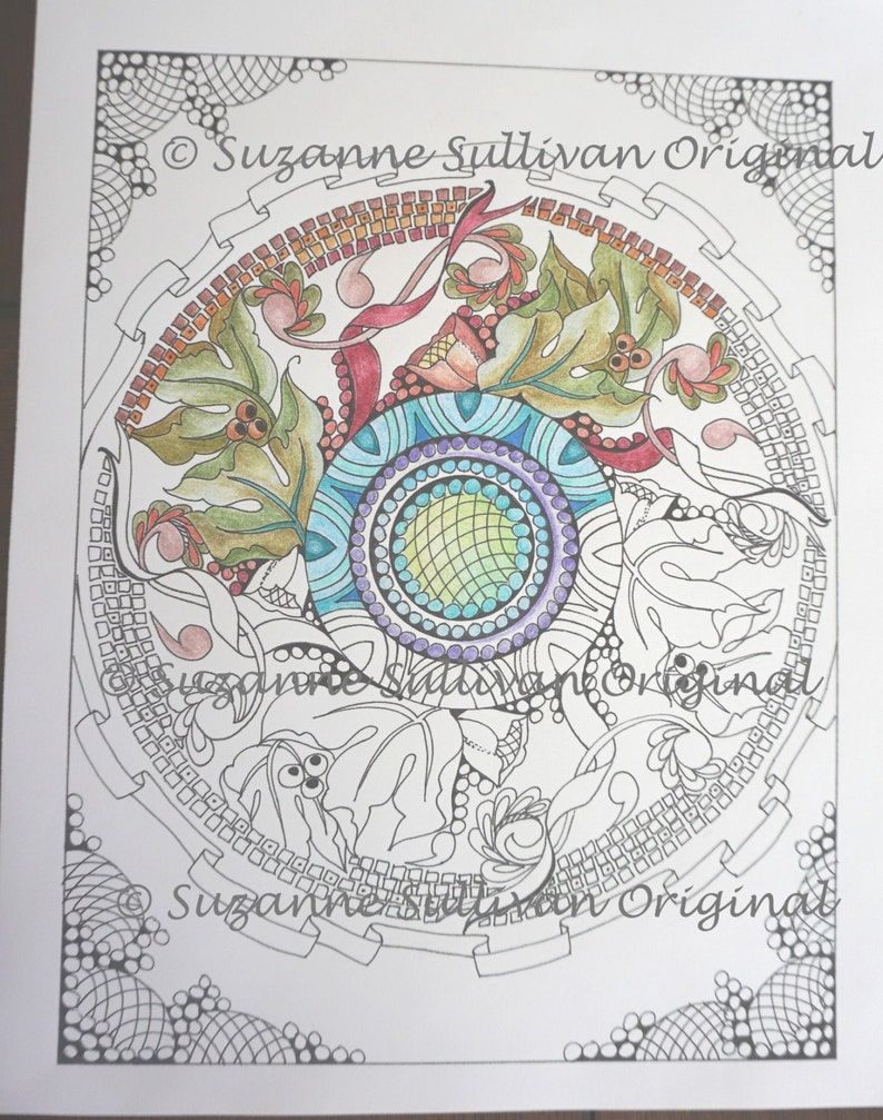 Mandala Coloring Page, Adult Coloring Page, Printable Download, Coloring  Book Page, Art Therapy, Relaxing Coloring, Teen Coloring Page, #131
