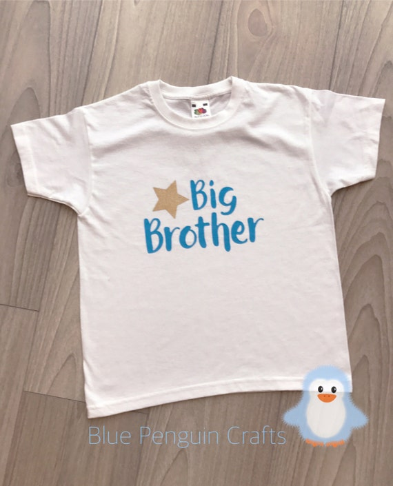 Gold Glitter Triangle Big Brother Toddler T-Shirt
