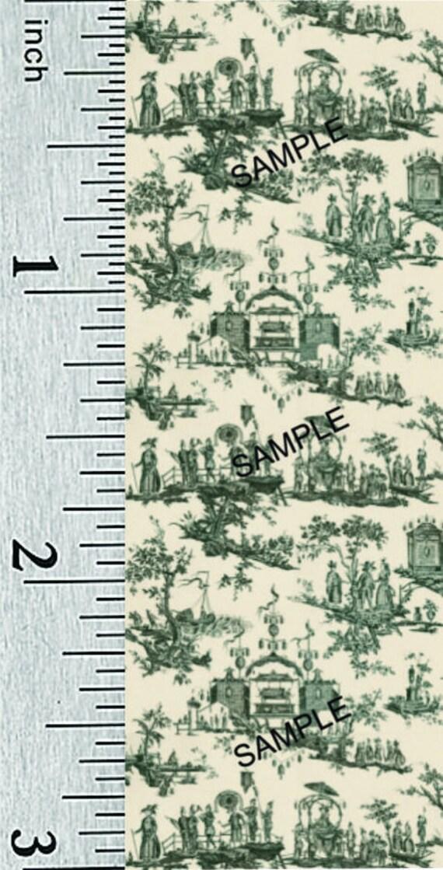 Dollhouse Miniature 1:24 Scale Victorian Tripartite Wallpaper