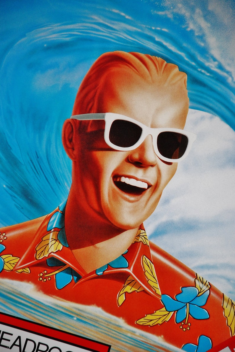 1986, Max Headroom Framed Posters for Coke Originals Your Choice