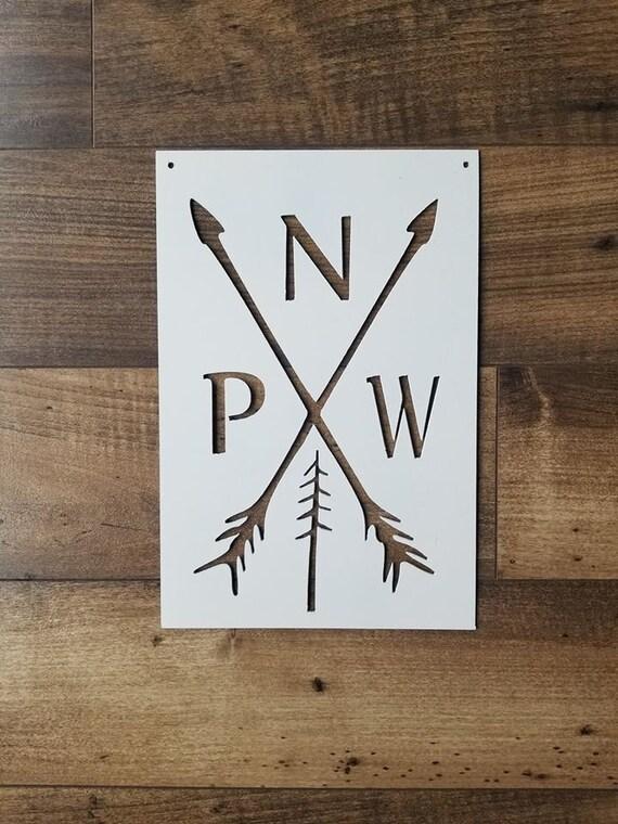 PNW Metal Sign