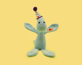 Crochet Dinosaur Pattern - Peyton the Plesiosaur - A Cute Amigurumi Pattern by The Clumsy Unicorn
