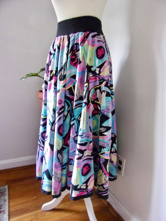 Jeanne Marc 70's skirt