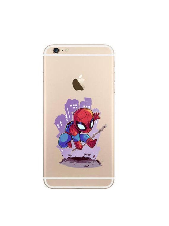 coque iphone 8 spider verse