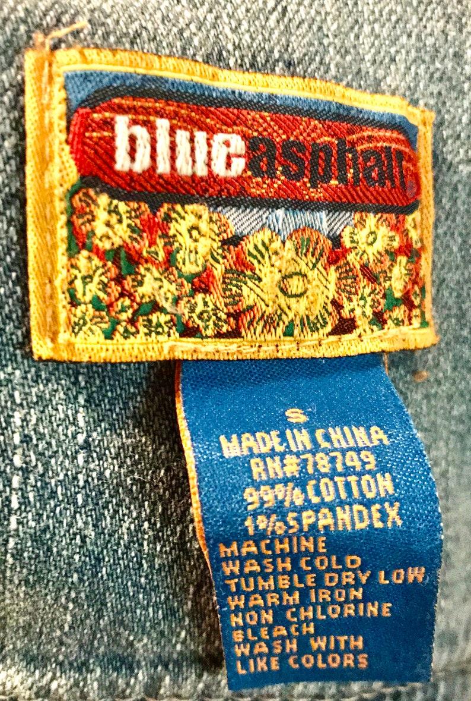 Vintage Blue Asphalt Jean Jacket\u2014Small